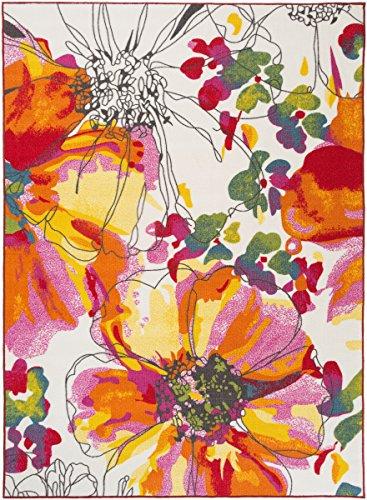 Floral Rectangular Print - 7