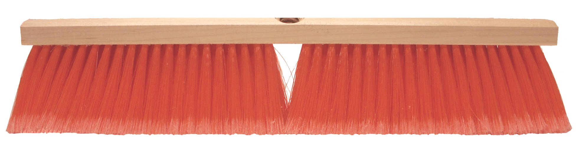 ST. Nick Brush 36'' Safety Orange Push Broom
