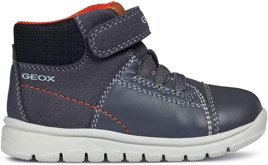 Geox B Xunday B, Sneakers Basses bébé garçon