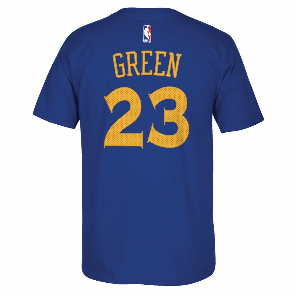 Amazon.com   Draymond Green Golden State Warriors Replica Blue Name and Number  T-shirt   Sports   Outdoors 8b802c0e3