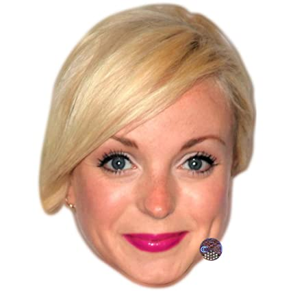 Amazon Com Helen George Celebrity Mask Card Face And Fancy Dress