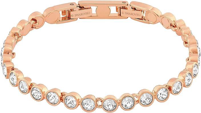 SWAROVSKI Crystal Rose Gold-Tone Tennis Bracelet