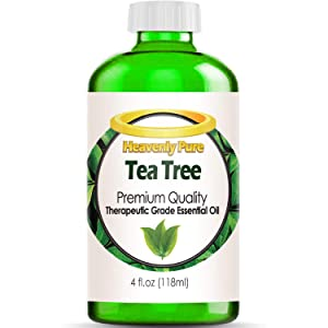 Tea Tree Essential Oil - HUGE 4 OZ/Dropper - 100% Pure Therapeutic Grade - Tea Tree Oil is Great for Aromatherapy, Acne, Hair Nourishment, Sinus & Allergies, Mosquito Repellent & More!
