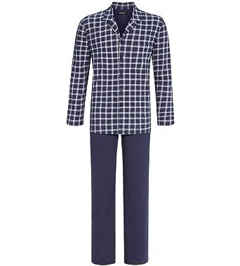96dc3b2d64 Ringella Men Pyjama durchgeknöpft Herren: Amazon.de: Bekleidung