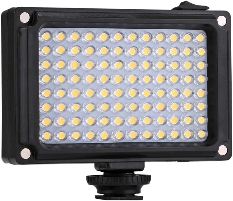 Photography Video//Photo Studio Light 96 LEDs Lamp with Two Magnetic Filters
