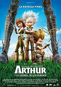 Arthur 3: La guerra de los mundos [Blu-ray]