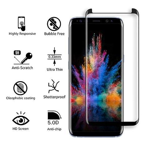 NISHXS Para el Samsung Galaxy S9 S8 Plus, Protector de ...