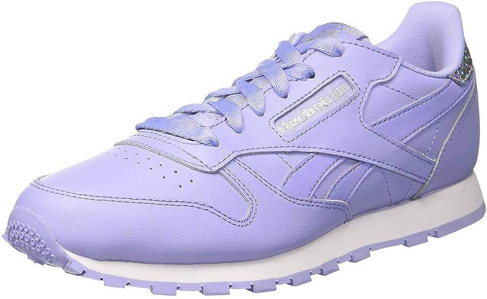 Reebok Classic Leather Pastel, Zapatillas de Running para Mujer, Azul (Azul/(Lilac Glow/White) 000), 38 EU: Amazon.es: Zapatos y complementos