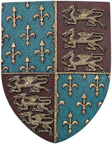 Pacific Giftware Medieval Times Royal Coat of Arms Shield Wall Sculpture Decor
