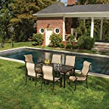 Hanover ODBR-7PC-SL-AL Brigantine 7-Piece Outdoor Dining Set