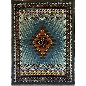 south west native american area rug 8 ft x 10 ft berber design c318 kitchen dining. Black Bedroom Furniture Sets. Home Design Ideas