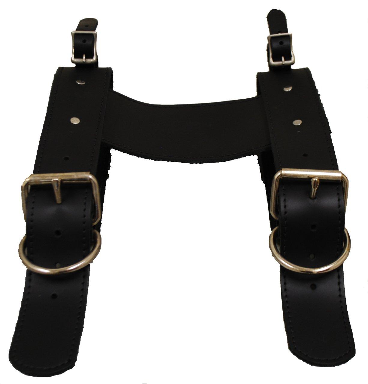 La Rosa Design Leather Belts for Blanket/Jacket-Black(Special) by Larosa Design
