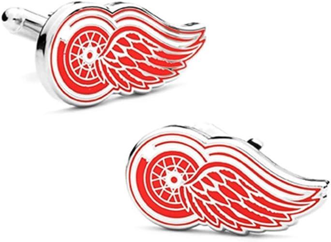 Cufflinks Inc Mens Detroit Red Wings Cufflinks