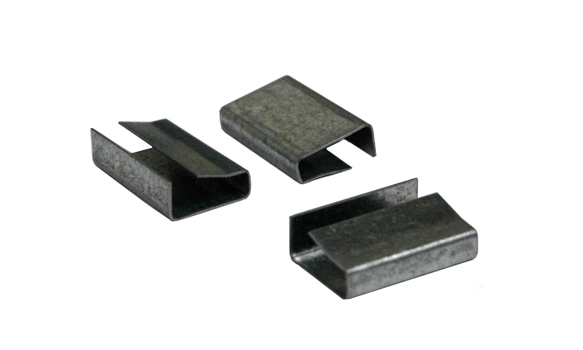 Poly Strap Seals - 3/4'' Snap-On Seals (1000/Case) - P34S02