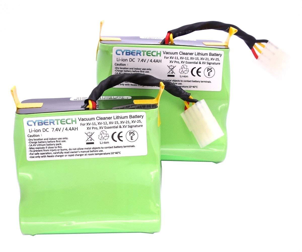2X 4400mAh Replace Lithium Li-Ion SuperLongLIFE Battery 4 Neato Signature XV Pro