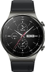 Huawei Latona Smartwatch with GPS, 46mm, GT2 Black
