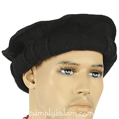 Afghan Hat (Pakol) - Black  Amazon.co.uk  Clothing 640afd9843e