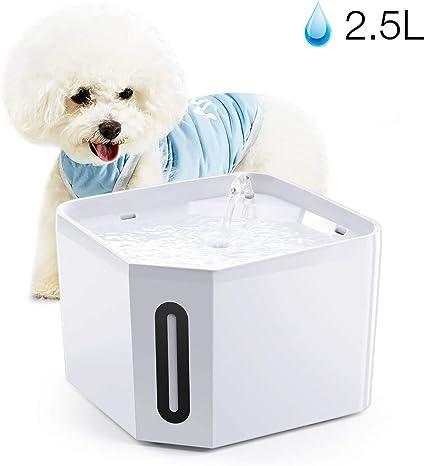 Amazon.com: isYoung Fuente para mascotas, dispensador ...