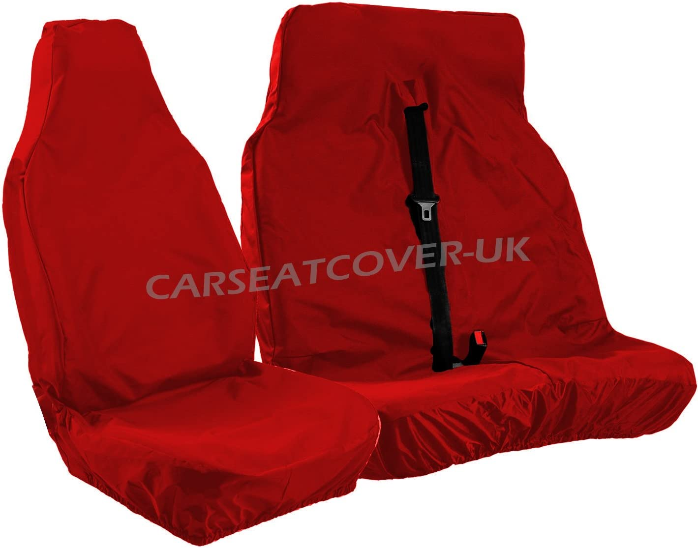 Fiat Ducato 2006 Crew Cab Van Tailored /& Waterproof Black 7-Seater Seat Covers