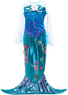 eyekepper little girls mermaid costume halloween costume mermaid dress - Mermaid Halloween Costume For Kids