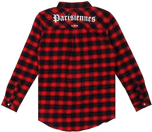 Sixth June W2192vsh - Camisa parisinas cuadros, color rojo y ...