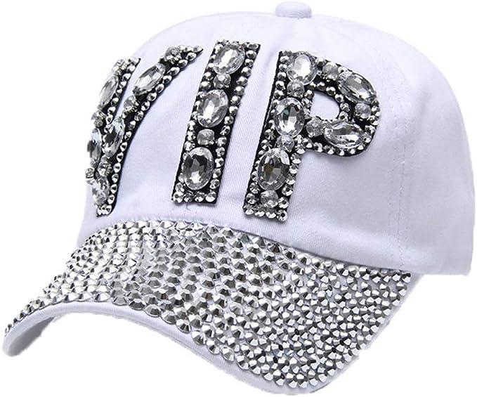BOERMO VONRU VIP - Gorra de béisbol para Mujer (algodón, con ...