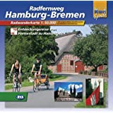 Hamburg - Bremen: Radwanderführer Maßstab 1:5000