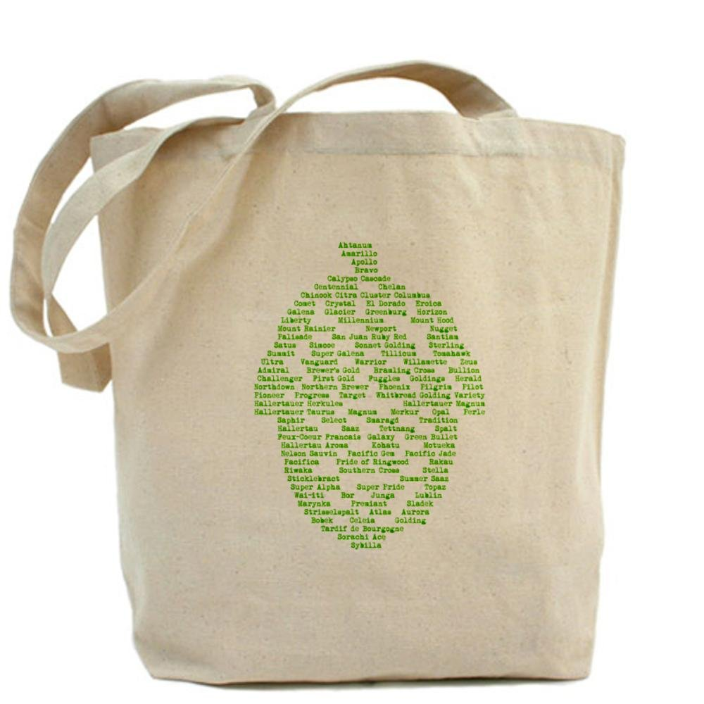 CafePress - Hops of The World Tote Bag - Natural Canvas Tote Bag, Cloth Shopping Bag