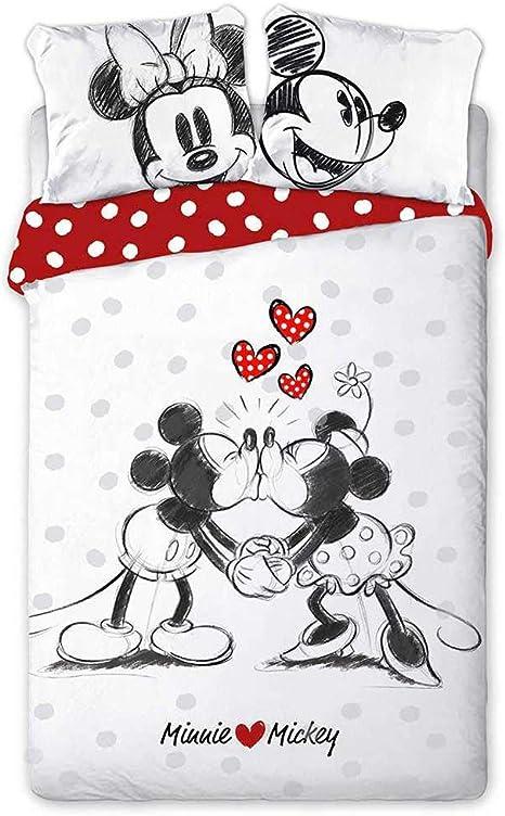 Minnie Tropical Disney Parure de Lit Enfant Housse de Couette