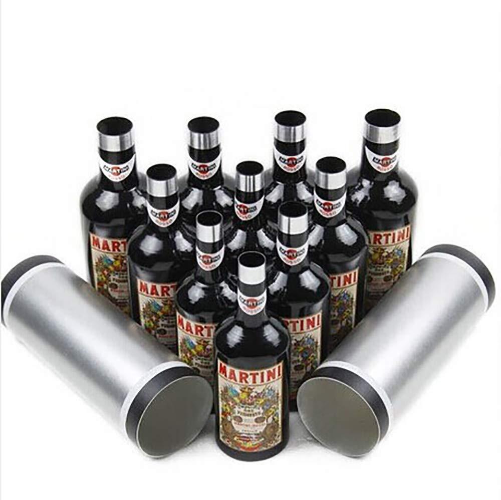Enjoyer Multiplying Bottles/Moving Increasing Black Bottles Magic Tricks Props Stage Magician Illusion (10 Bottles,Poured Liquid) by Enjoyer (Image #4)