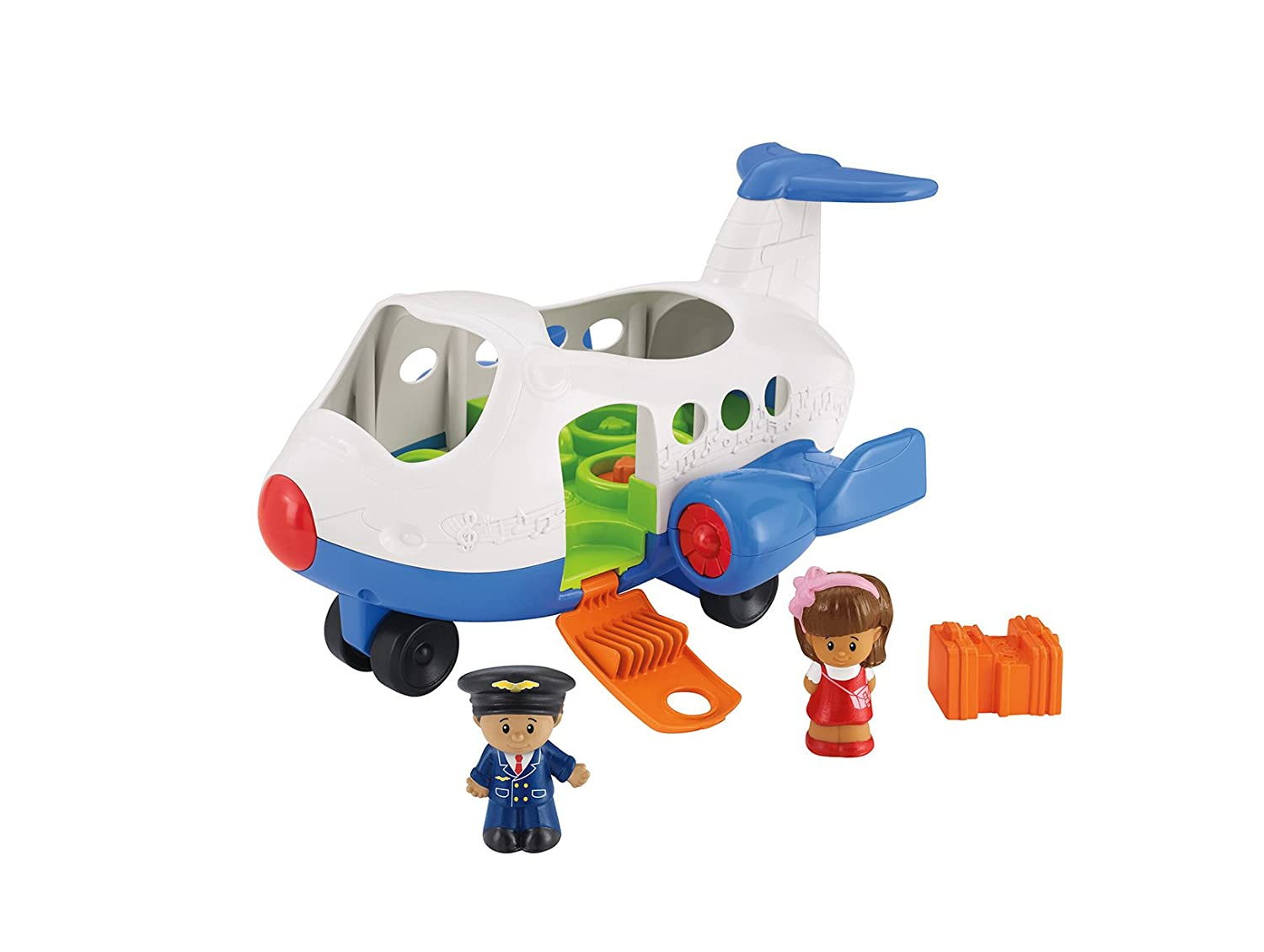 Little People Avión cantarín Fisher Price Mattel BJT
