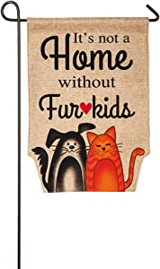 Fur Kids Garden Flag