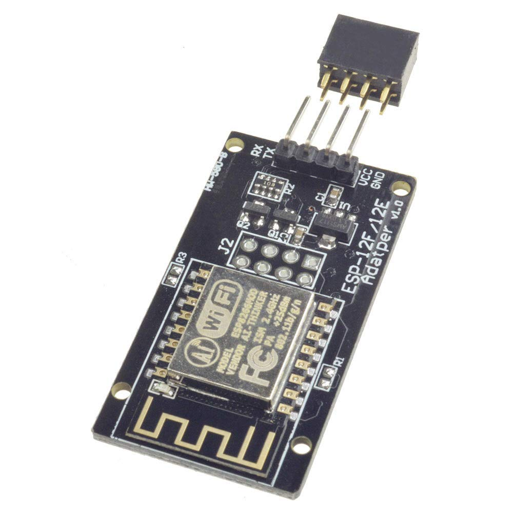 ESP8266 ESP-12F Serial WiFi Wireless Transceiver Module V10 Send and Receiver ESP-12f for Arduino with Adapter Expansion Board