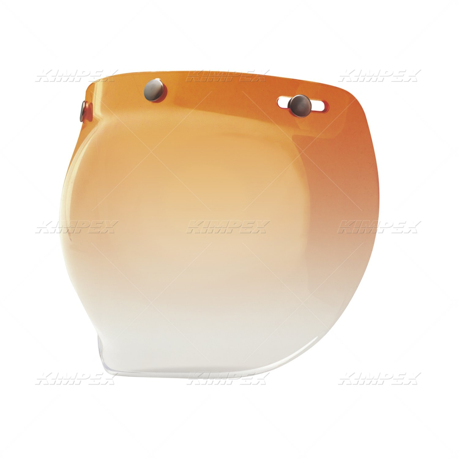 Bell Powersports 3 Snap Bubble Shield Amber Gradient 7018135