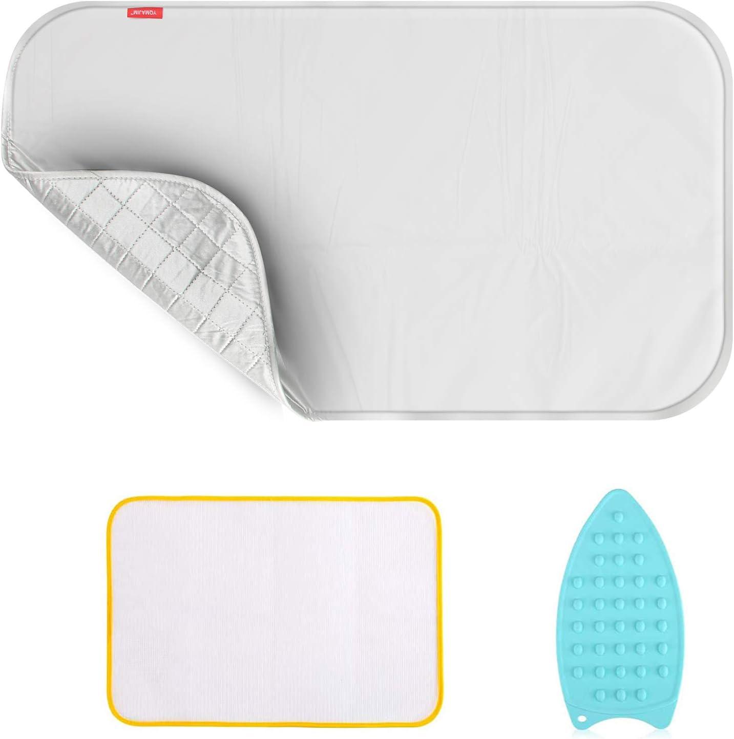 YQMAJIM Ironing Blanket Ironing Mat Portable Travel Ironing Pad