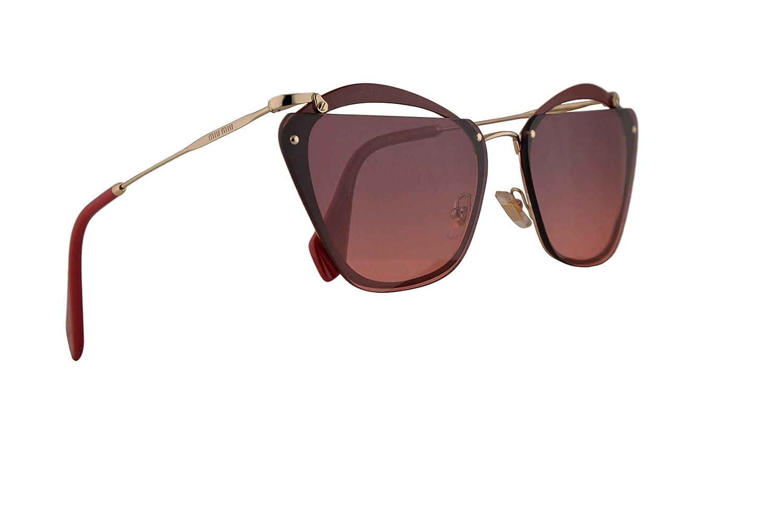 Amazon.com: Miu Miu MU54TS Gafas de sol Garnet con lente ...