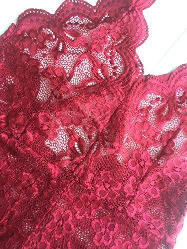 Lingerie Xoolover Bobys Donna rosso E 19 Set Sexy Biancheria Mesh Intima Confortevole wtt6O