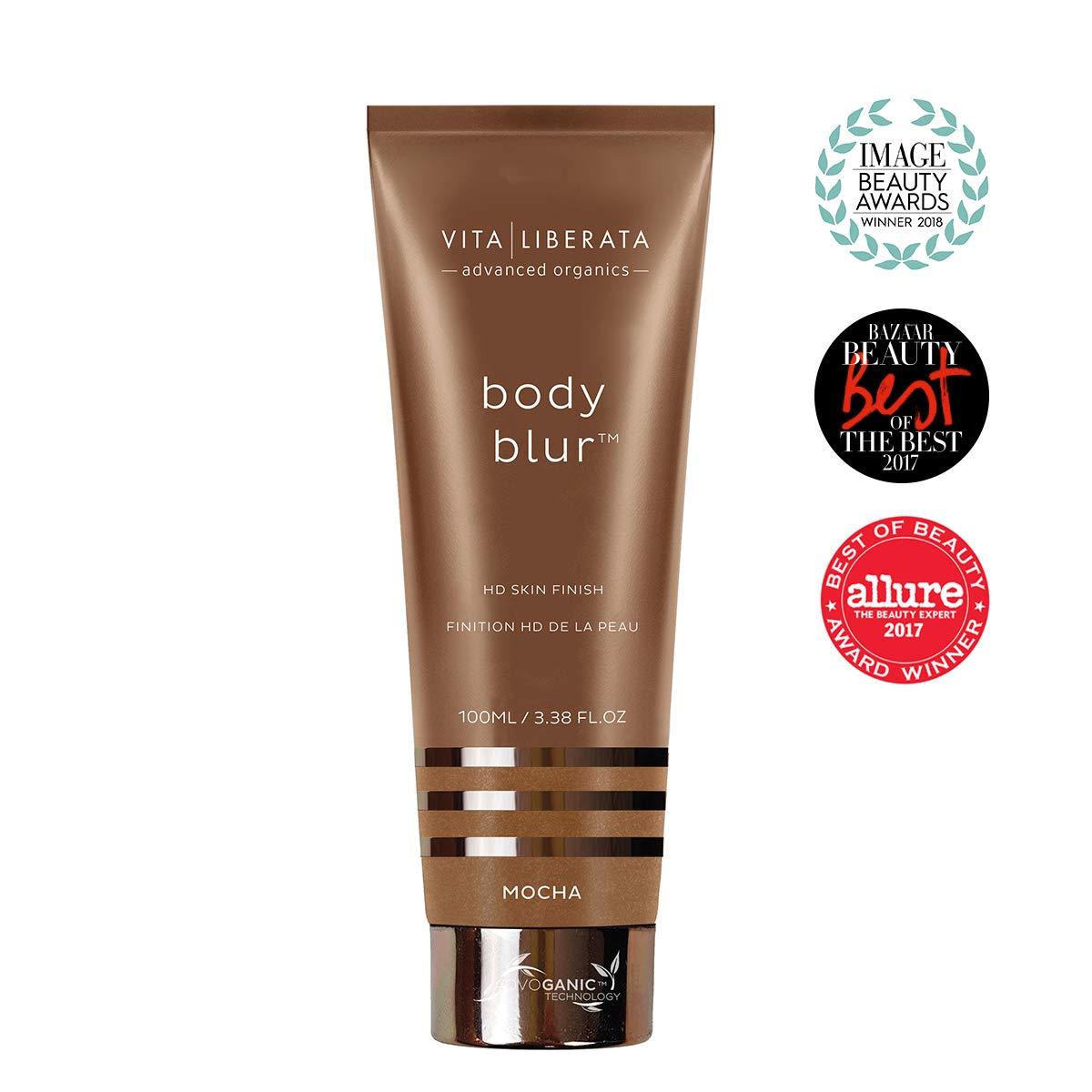 Vita Liberata Body Blur Instant HD Skin Finish Mocha Dark Bronzer, 3.38 Fl Oz