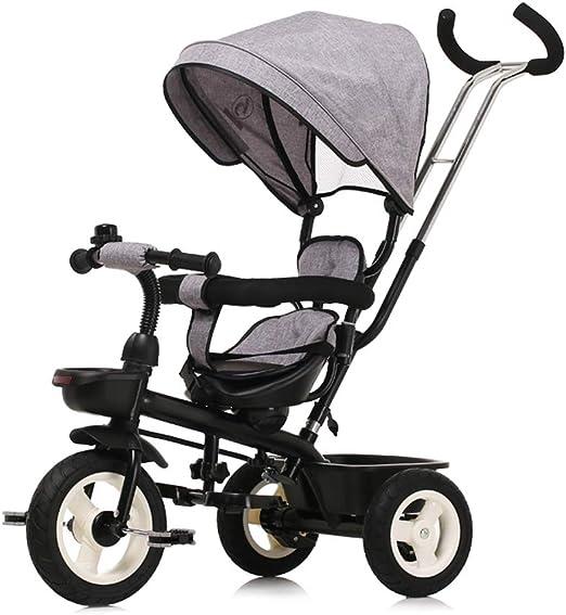 Jian E E-Carro Bicicleta de Triciclo para niños 1-3 años Cochecito de bebé 2-6 Bebé Infante Niño 3 Wheeler Grande Carrito de bebé/ (Color : D): Amazon.es: Hogar
