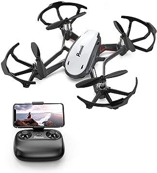 Potensic Mini Drone con Cámara HD, Avión WiFi FPV, Cuadricóptero ...
