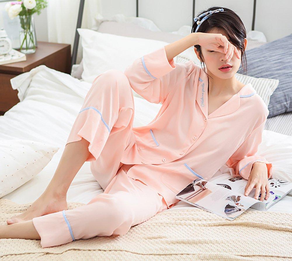 Pijamas De Verano Pijamas De Para De Mujer Set Ladies 2 Piezas De ...