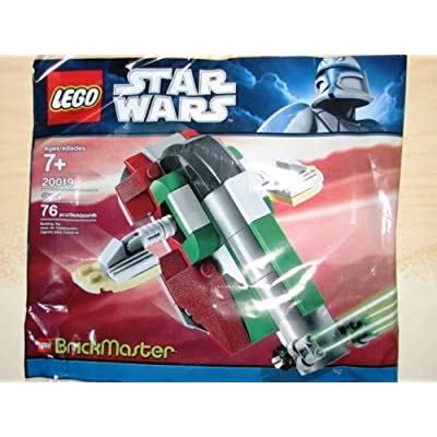 LEGO Star Wars BrickMaster Exclusive Mini Building Set #20019 Slave I Bagged: Toys & Games