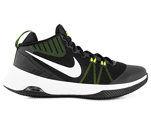 Nike - Air Versitile - 852431009 - Color  White-Black-Green - Size  11. 0  Buy  Online at Low Prices in India - Amazon.in 0cf80c50a