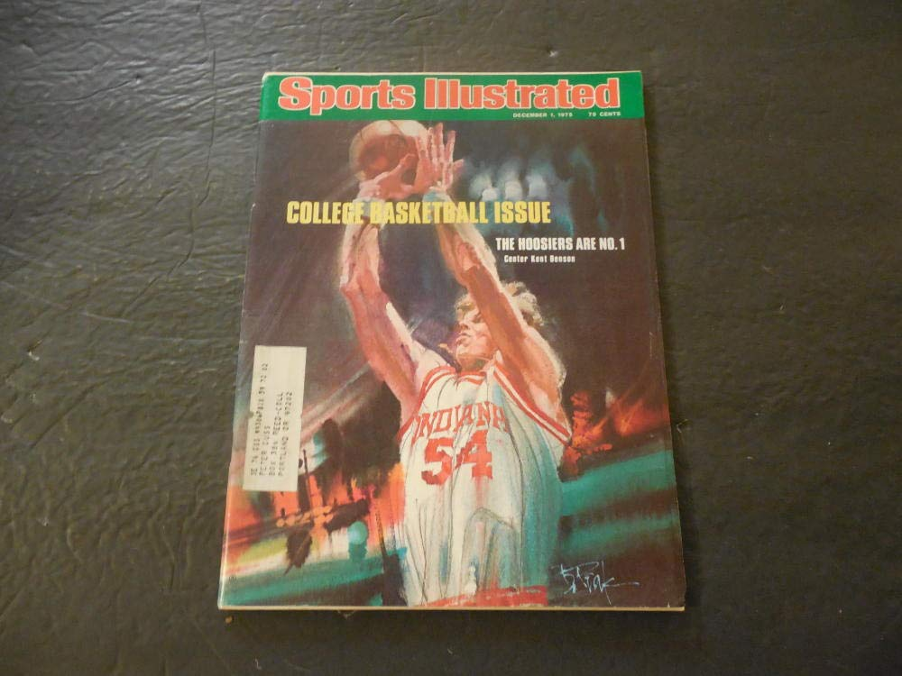 Sports Illustrated Dec 1 1975 College Basketball; Indiana Hoosiers #1