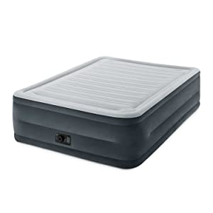 Intex Comfort Plush Elevated Dura-Beam Airbed with Built-in Electric Pump