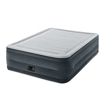 Intex Comfort Plush Elevated Dura-Beam Airbed, Bed Height 22, Queen by: Amazon.es: Deportes y aire libre
