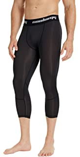 206334e9f5f0c COOLOMG Compression Pants Running Tights 3/4 Tights Capri Pants Leggings  10+ Colors/