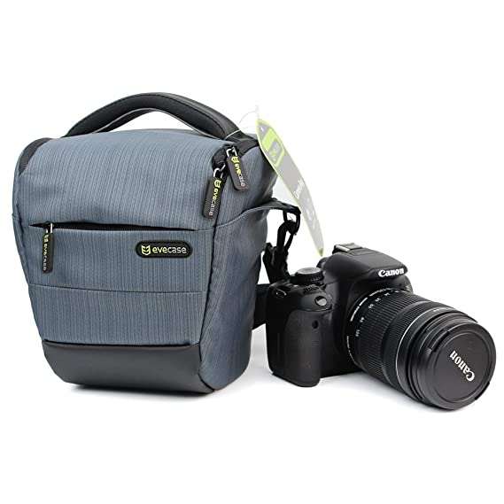 Evecase - Funda para cámara réflex digital Nikon (compatible con ...