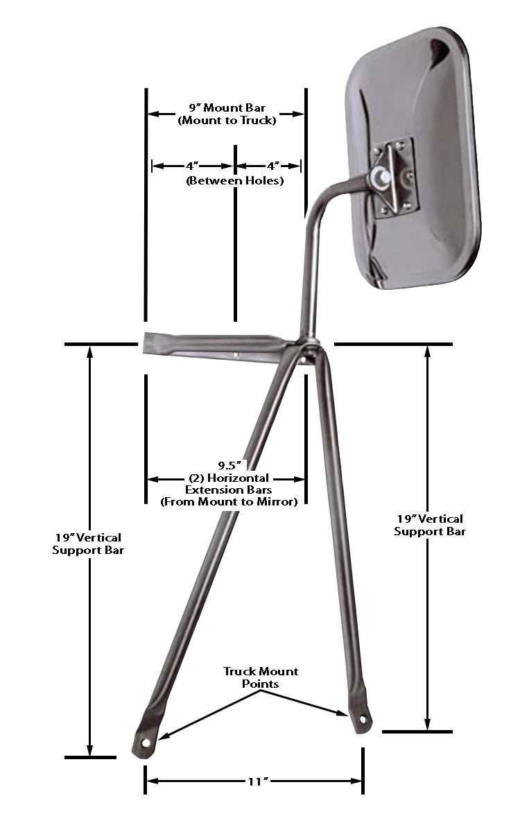 Wiring Diagram For The Cipa Extendable Towing Mirrors 72100 For A