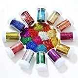 Glitter Shakers for Children for Crafts by IIOOII